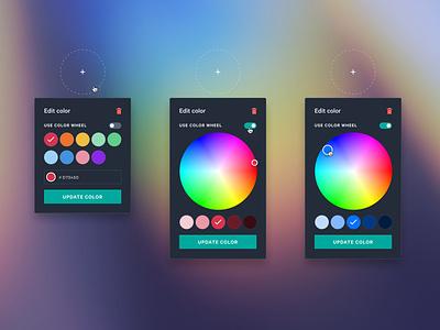 The pursuit of the perfect colour picker product ux-ui palette ui picker color