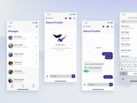 Chat Flow, Mobile App