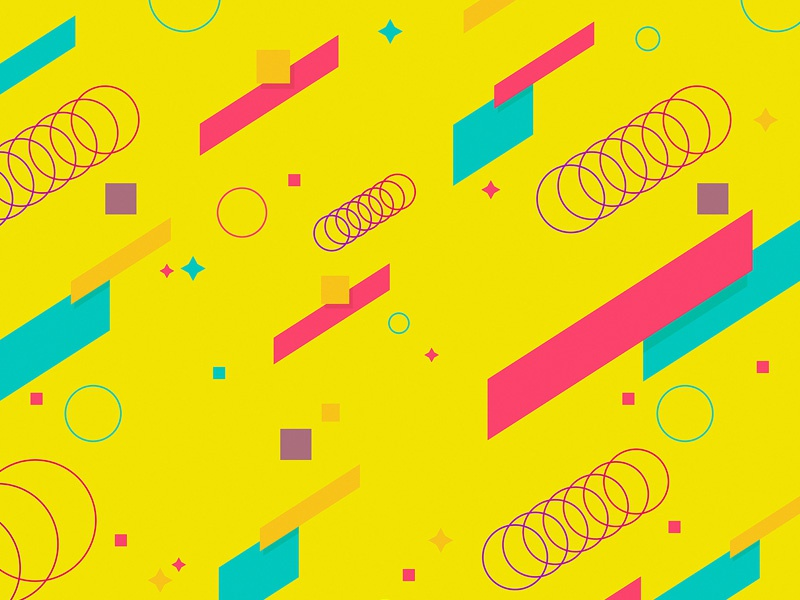 Abstract Shapes Backgrounds By Themefire On Dribbble