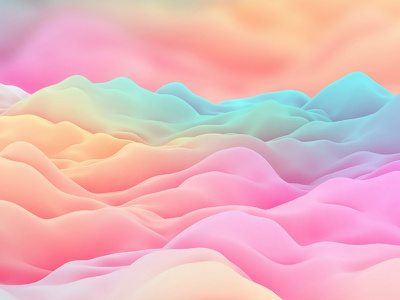 Sweet Smooth Waves Backgrounds textures soft waves smooth waves sweet waves wavy backgrounds c4d cinema 4d motion design generative graphics generative art