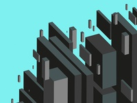 Isometric Rectangles Backgrounds