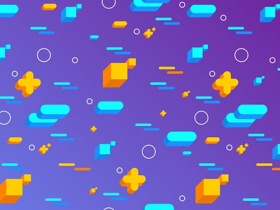 Abstract Flat 3D Shapes Backgrounds 2d abstraction geo shapes gradient abstract wallpapers patterns backgrounds vector flat 3d flat
