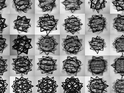 Polyhedron visual identity polyhedron leonardo da vinci identity grid geometry construction white black dynamic art photography