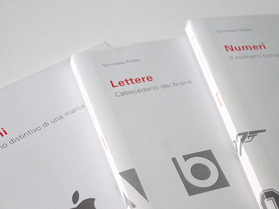 Alfabeti Tipografici typography symbol letter number logo brand graphic design editorial design book