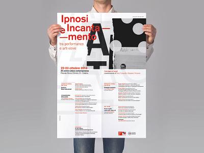ipnosi e Incantamento construction design graphic project grid event identidad poster identity