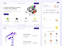 Design for DONATEsystems website