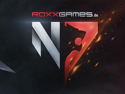 N7 Wallpaper Logo Roxxgames Gaming Esport Mlg Csl Esl Xbox Cod