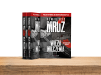 Book Cover - Tower of silence / Wieża milczenia