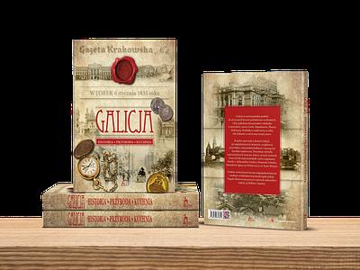 Book Cover - Galicia / Galicja cover layout design cover design book cover book cover