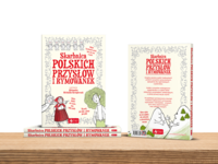 Book Cover - A treasury of Polish proverbs