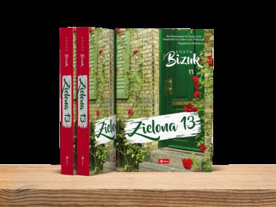 Book Cover - Agata Bizuk - Green 13 street - Zielona 13