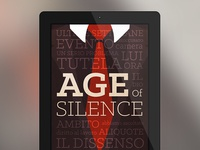 Age of Silence welcome screen - Politician