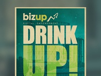 Drink Up! Event Poster