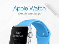 Apple Watch Prototyping Templates - Free Download