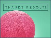 Thanks Zsolti bá!