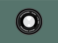 Pentacon 50mm 1.8 lens