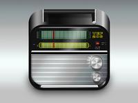 Old VEF206 am/fm radio icon
