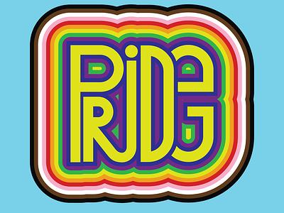 Pride Flag Lettering blm blackpride calligraphy font design loveislove queer art queer type art font lettering typography illustration gaypride pride month pride 2020 intersex bisexual transgender lesbian gay