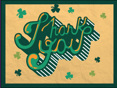 Thank You for St.Patty's Day
