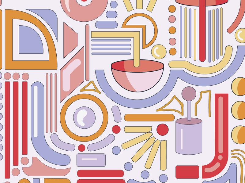 Meditation Pill - World of Shapes icon ux ui logo typography artwork adobe vector art design illustration illustrator