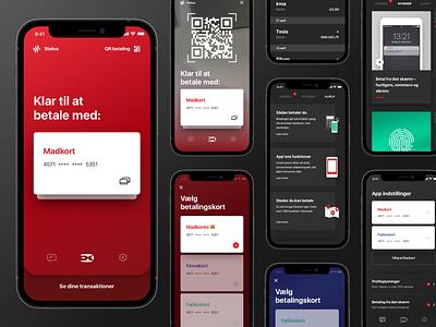 Dankort app mobile contactless finance design app payment