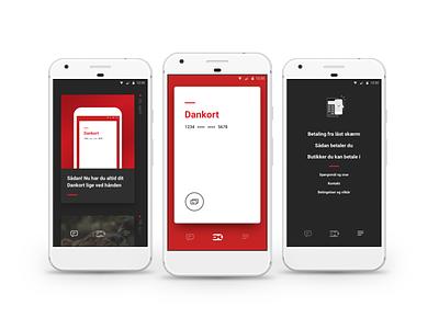 Dankort App for Android payment finance app dankort