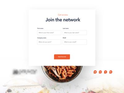 Website Design - Contact Form