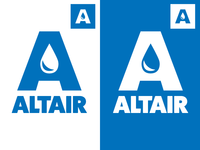 Altair Logo | Letter A | Water Treatment Company
