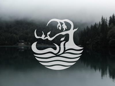 Logo for the Wisdom & Identity Lab branding design academia graphic design logo