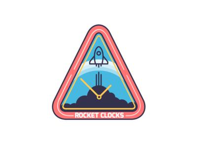 Rocket Clocks space clocks rocket