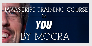 Javascript training course banner javascript training banner typography