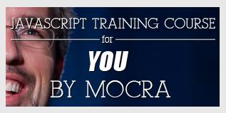 Javascript training course banner javascript training banner typography