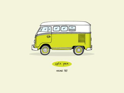 Split Pea Bus - '72