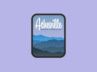 Asheville Travel Decal