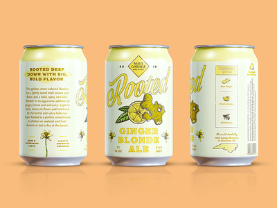 Rooted Beer Can Design
