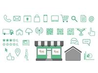 Icon Set 1 (shopping)