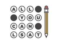 All You Can LSAT - Logo