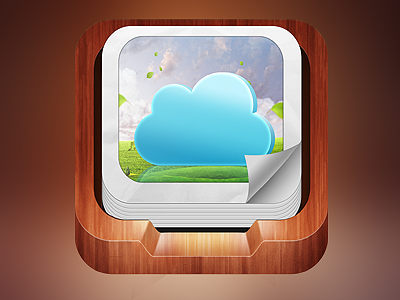 Cloud Pic 2 cloud pic ios icon hydip hidip