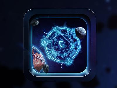 Astrology  ios icon app atrology retina display