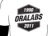 OraLabs company t-shirt
