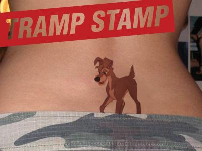 Trampstamp tramp stamp tattoo