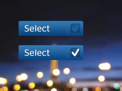 Checkbox checkbox button select