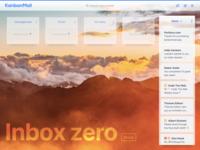 Inbox Zero screen – KanbanMail