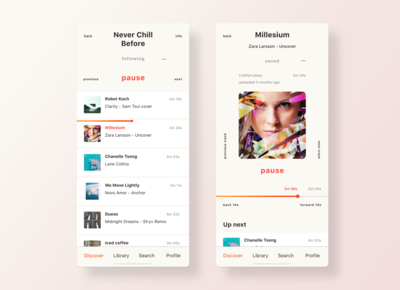 Music Player | SoundCloud Redesign