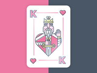King Of Hearts Design
