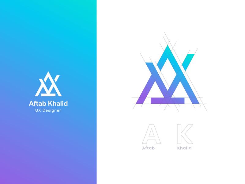 Logo Type | Aftab Khalid logotype logo icon type logo