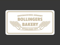 Bollingers Bakery   Logo