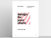 dorian.design - Poster no.01