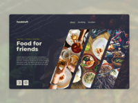 Cooking Event Website Concept