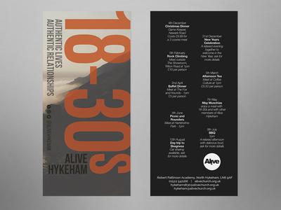 Alive Hykeham 18 - 30s flyer